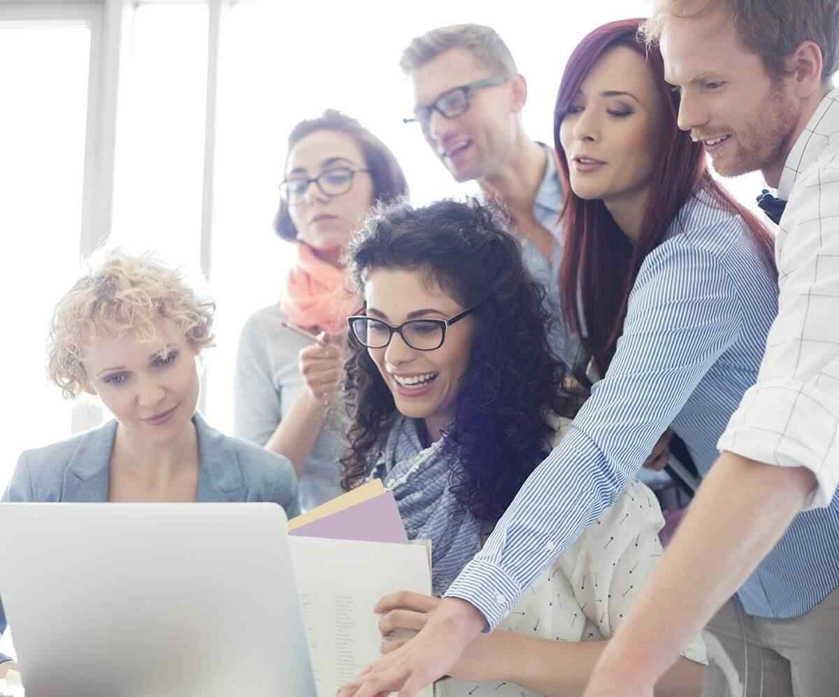 équipe de développeurs agence web