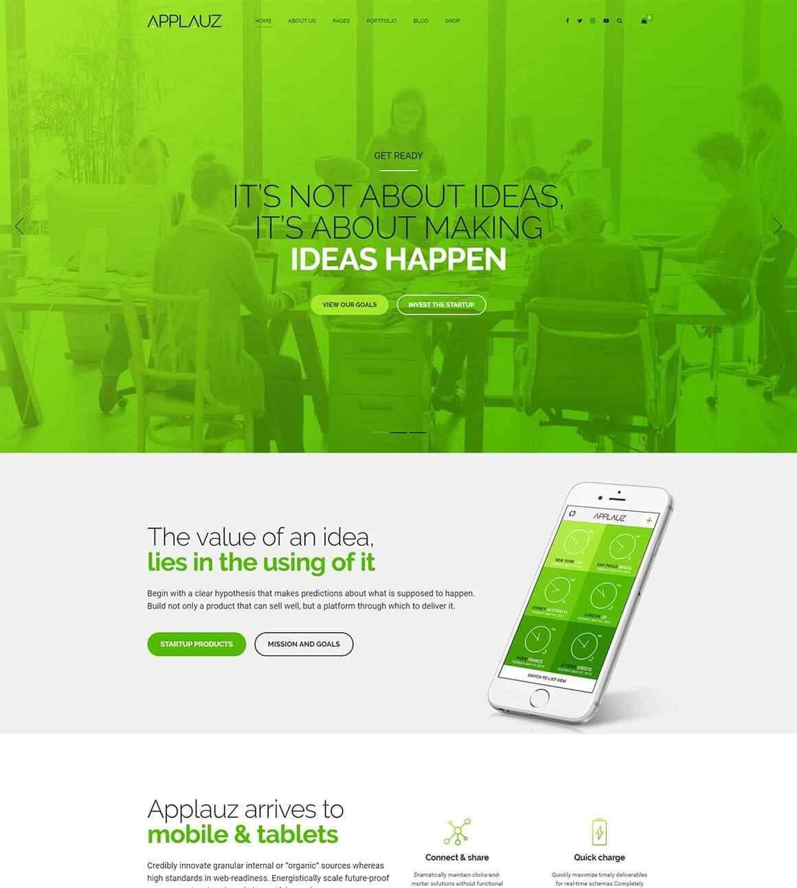 aence web création site mobile